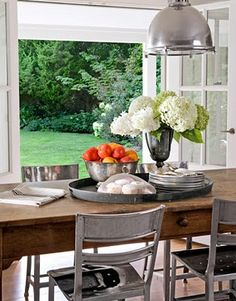 table decor on pinterest trays dining tables and dining rooms