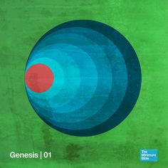 A pastor decided to use his graphic design skills to create one image floor each book of the bible. Genesis reflects not only the days of creation, but the ripple effect that the fall of man had on the rest of history. $25 a print