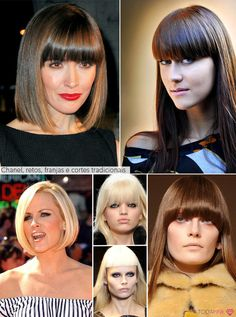 Cabelo outono inverno 2012 | Hair 2012 autumn winter | chanel hairstyle