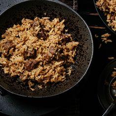 Lamb Biryani  #curry #india #indianfood #indiancuisine #cuisine #food #recipe #foodinspiration #travelfood #authenticindia Tyga, Biryani, Indian Food Recipes, Food Inspiration, Lamb, Curry, Tasty, Dishes, Curries