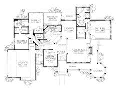 Main Floor Plan: porch and gazebo