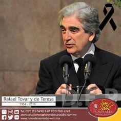 Descanse en Paz  Rafael Tovar y de Teresa, quien fuera el primer Secretario de Cultura de México. Incansable promotor de la cultura y las artes en nuestra nación. ¡Gracias por sus servicios a México! #Cultura #Nación