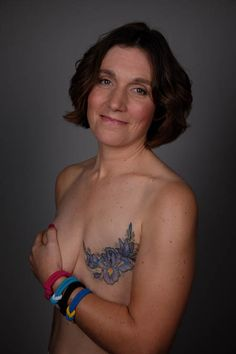 Kerry Allison hated looking at her mastectomy scar. But two years after her breast cancer diagnosis, she found an artistic way to regain her self-esteem. Breast Cancer Tattoos, Cover Tattoo, Health And Beauty, Tattoo Inspiration, Tatoos, Infinity, Image, Beautiful, Style