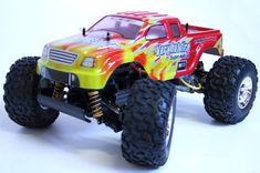1/10 Offroad Off Road Radio Remote Control 4wd Bonzer Xt Cross Tiger Monster Truck Rc Rtr