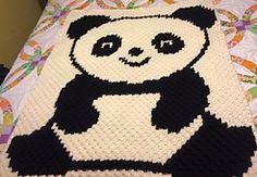 Ravelry: C2C Panda pattern by Tana Whitney