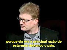 ▶ Ken Robinson: Escolas matam a criatividade? [completo, legendado português]…