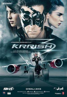 Krrish 3 (2013) - Hrithik Roshan, Priyanka Chopra, Vivek Oberoi, Kangana Ranaut, Rakhi Sawant, Arif Zakaria, Shaurya Chauhan, Archana Puran Singh, Rekha, Vrajesh Hirjee