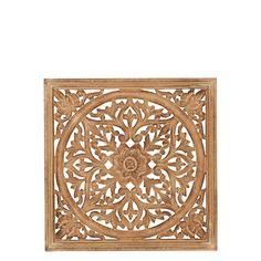 Snygg trädekoration för väggen, fönsterskydd eller liknande. Storlek: 2x45x45 cm Från Affari Carving, Interior, Nature, Gold, Painting, Naturaleza, Indoor, Wood Carvings, Painting Art