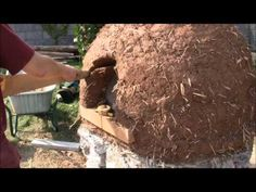 How to make a cob oven or clay oven Part three