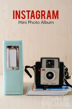 Instagram Mini Photo Album by We R Memory Keepers | with 4x4 Prints from PersnicketyPrints.com