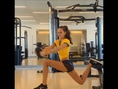 Victoria's Secret Model Izabel Goulart Workouts - Part 1 - YouTube