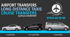 We at coventry taxis cover airport transfers to all major airports. If you are a student in coventry looking for a friendly taxi company to help transport you from coventry to london then call 07933660089.
