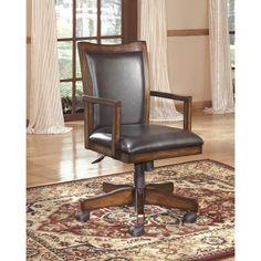 Signature Design by Ashley Hamlyn Home Office Swivel Desk Chair - Overstock™ Shopping - Great Deals on Signature Design by Ashley Office Chairs