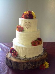 The Unique Appearance of Rustic Wedding Cakes | Vidya Stuff