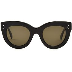 1d7f9ddc50ce Céline Sunglasses Cat-eye frame acetate sunglasses ( 311) ❤ liked on  Polyvore featuring