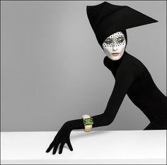 Part of the 2008 photo campaign for Majo Fruithof's jewelry.  photographer Patrizio di RENZO  model Iekeliene Stange