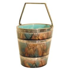 Ice Bucket by Dr. Christopher Dresser | From a unique collection of antique and modern barware at http://www.1stdibs.com/furniture/dining-entertaining/barware/
