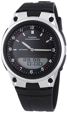 Casio Collection Herren-Armbanduhr Analog / Digital Quarz AW-80-1AVES - http://uhr.haus/casio/casio-collection-herren-armbanduhr-analog-quarz-11