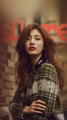 Suzy graced the cover of 'Allure'!Suzy went to Australia's Melbourne to take a fall-themed photoshoot for the September issue of the magazine… Bae Suzy, Beauty Photography, Iphone Photography, Korean Beauty, Asian Beauty, Miss A Suzy, Idole, My Hairstyle, Hairstyles