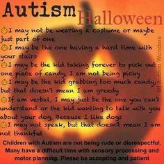 Autism Halloween.