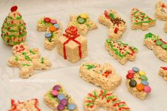 Mom vs the Boys - Try this fun and delicious family activity for the holidays, Rice Krispie Treats!