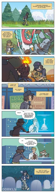 """Memories of a PokéFather"" #dorkly #geek #pokemon"