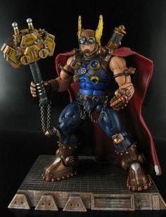 Steampunk Thor Custom Action Figure