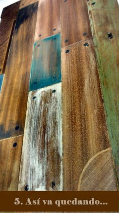 How to Add a Reclaimed Wood Look to Furniture