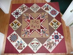 MY CURRENT OBSESSIONS: The last of four quilts is bound - and a goal is reached.