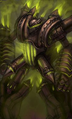 World of WarCraft. I have honestly never been killed by the fel reaver. I have seen ppl get pwnd by him though and it's hilarious.