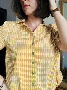Coudre une chemisette – patron gratuit – Les Marottes – un blog créatif par une passionnée de DIY