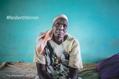 Like this lady from Malakal, South Sudan many migrant women show strength in the midst of struggle and displacement. @DTM_IOM #ResilientWomen photo: @Muse_Mohammed