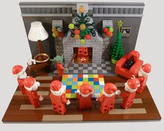 Lego Christmas - The School Of Santa (International Training Centre Of Santa Skills) The Training has begun.