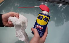 How To REMOVE CAR SCRATCHES with WD40 - Auto Detailing ⭐ - YouTube