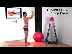 Free Arm Workout - 5 Best Arm Toning Exercises