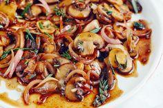 Recipe: 15-Minute Buttered Balsamic Mushrooms — Steak Dinner Side Dishes