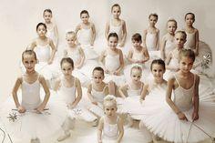 Young ballet girls