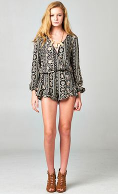 #longsleeve #tribal #print #ruffle #romper WWW.SHOPPUBLIK.COM #shoppublik #publik #womens #fashion #clothes #style #accessories #jewelry #rings #bracelets #earrings #statement #necklaces #gold #silver #chic #cute #hot #trendy #sexy #swag #fashionista #fashionfeen #fallfashion #holidays #fashionforward #fashiontrends #outfitinspiration #streetstyle #celebstyle #ootd #whatsnew #newarrivals #armpartyswag #womenswear