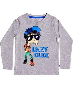 Name It fun grey longsleeve t-shirt with basketball dude. name-it.en.emilea.be