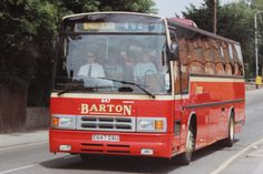 'PARAMOUNTS' Barton Transport fleet number 647, One of the final batch of Plaxton Paramount III bodied DAF MB230s delivered in 1988