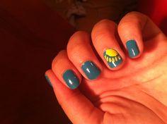 fun summer nails - betsey johnson polishes (own)