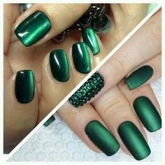 Гель лак кошачий глаз с матовым топом и без Nail Art#маникюр #ногти #nails #nail #дизайн ногтей #гель лак #гель #гелевые ногти #шеллак…»