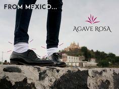 From Mexico... #AgaveRosa, una tienda mexicana especializada en calcetines y calcetas para todos los gustos, incluso en el delicado pie de quienes padecen diabetes, visita www.agaverosa.com ❤