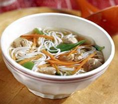 WW Crockpot Asian Chicken Soup-This is a healthy low calorie, low carbohydrate, low fat, Weight Watchers 4 Points+ recipe. Makes 6 Servings.