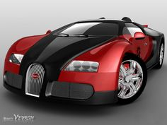 Bugatti Veyron..I want this one too.