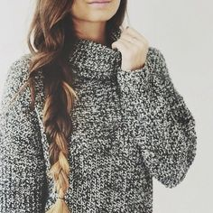 Winter feels like it's around the corner and all we can think of are the warm cozy sweaters we will be wearing