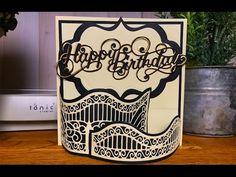 Alison's Papercraft Makes - Window Box Card