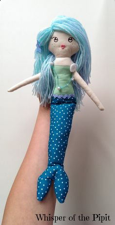 LIMITED TIME OFFER Mermaid doll ooak doll by WhisperOfThePipit