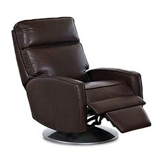 A Gift for The Man Cave Dweller... At home in any contemporary setting, this pull-back bistro recliner features a clean, understated shape with laid-back modern lines. Also available with a 1-motor or 2-motor reclining system. Buy it! Free shipping through 12/22/15.