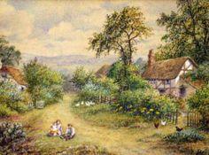 Children On A Village Lane